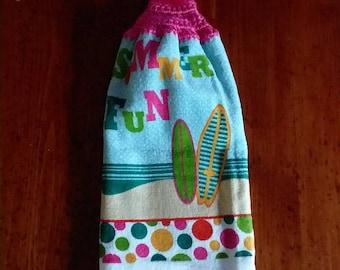 Kitchen towel, summer