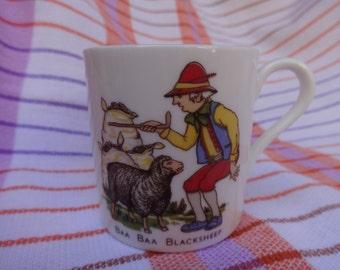 Child's China Nursery Rhyme Mug