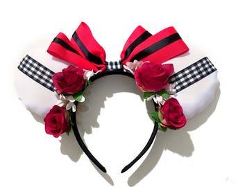 Roxas Kingdom Hearts Minnie Ears