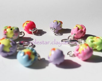 Easter charm, Easter chick, Easter chick clay, Miniature Jewelry, Easter Jewelry, Handmade Easter Charm, Easter necklace, Easter Earrings
