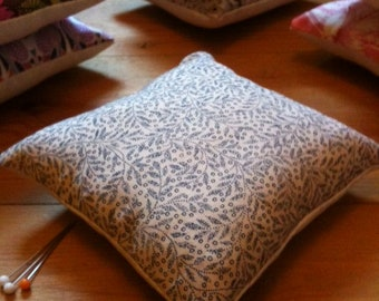 Pin cushion, handmade with Liberty fabrics,Annabelle