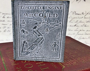 vintage mini tiny miniature book bookhouse for children The Little Engine that could other stories 1920 special antique