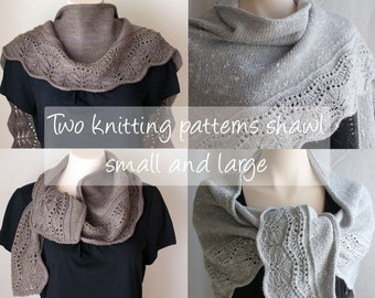 Knitting Patterns Shawls, Farniente 1 and 2