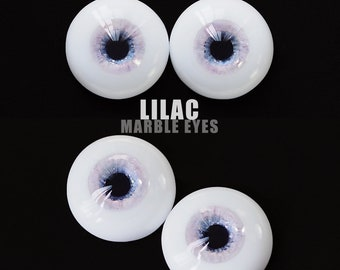 Marble Eyes Lilac 18mm [IN-STOCK] Enchanted Doll Eyes