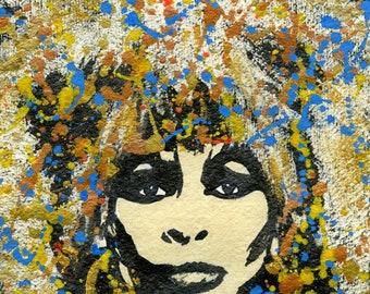 Queen Tina Enhanced Art Print Tina Turner inspired