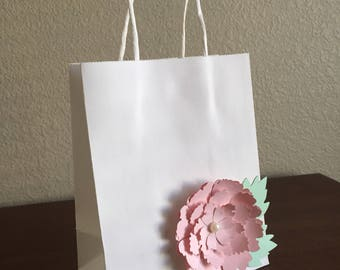 Flower Favor Bags, Flower Goodie Bags