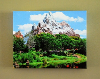Animal Kingdom Expedition Everest 11x14 Gallery Canvas Wrap
