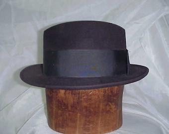 Hat Mens Classic Dress Hat   Mad Men Style c1950