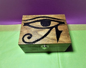 Eye of Horus box,horus symbol,symbols box,egyptian symbol box