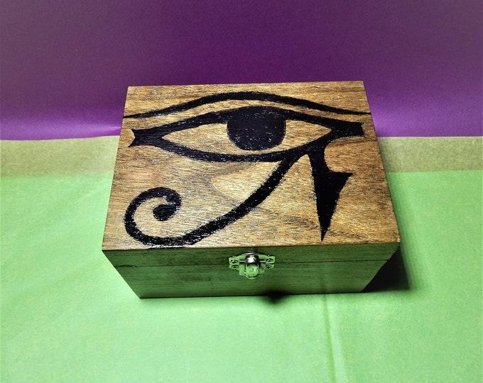 Eye of Horus box,horus symbol,symbols box,egyptian symbol box