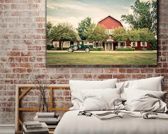Rustic Decor, Barn Decor, Barn Art, Home Decor, Door County, Ephraim, Wisconsin, Country Wall Decor, Island Lavender