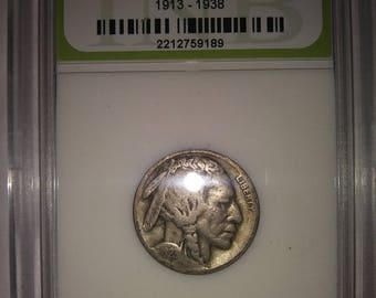 1923 S Buffalo Indian Head Nickel