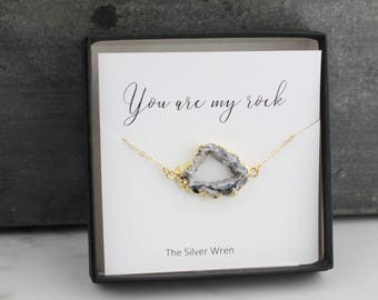 Jewelry Gift, Gift for Her, Sister Gift, Gift for Sister, Best Friend Gift, Crystal Necklace, Dainty Jewelry, Gift for Women, beauty gift