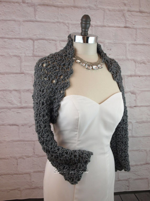 Crochet Pattern Shrug Easy Crochet Pattern Wedding Crochet