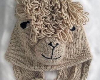 Alpaca Hat Pattern
