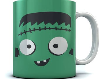 Monster Face Halloween Coffee Mug
