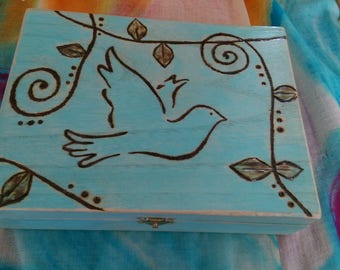 Meditation Box PEACE (blue)
