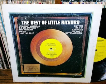 The Best of Little Richard Vintage Vinyl Record