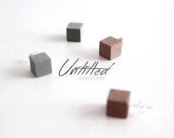 Untitled - Concrete Earring