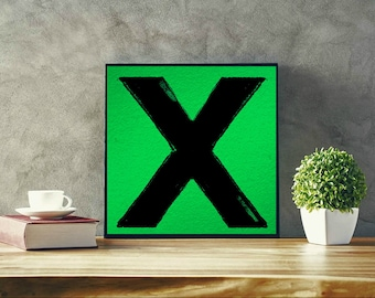 Ed Sheeran Album Limited Artwork