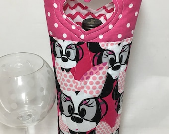 Minnie Mouse Wine Gift Bag