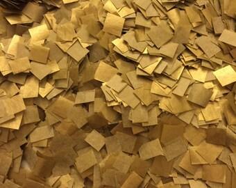 Metallic Gold Confetti. Biodegradable Confetti. Gold Wedding Confetti. Ecofriendly Confetti. Environmental. Gold Wedding Decor [A01]