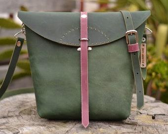 Leather Bag,Leather Purse,Handle Bag,Handmade Bag,Crossbody Bag,100% Leather,Spanish Leather