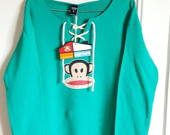 Sweat 100% cotton Paul Frank size L new with tag.