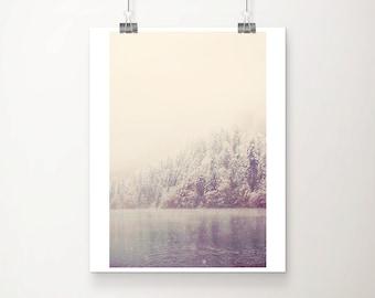snow photograph winter photograph mountain photograph lake photograph tree photograph germany photograph travel photography