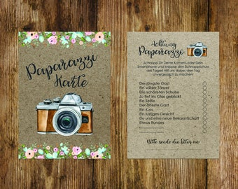 50 photo cards photo game wedding, Fotoralley wedding game, wedding game