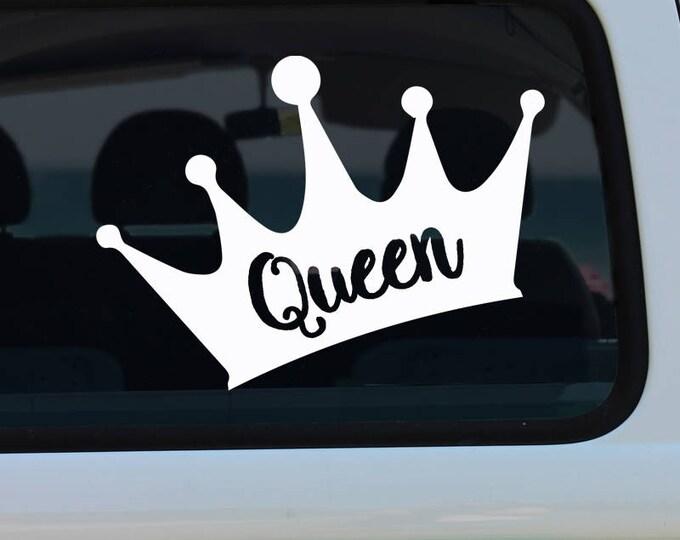 Queen Crown Decal