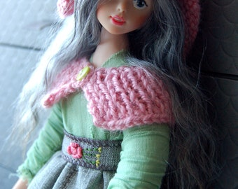 Art Doll Forest Girl with Basket