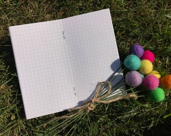 Traveler's Notebook PERSONAL Size Grid Inserts