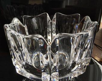 Crystal Orrefors bowl