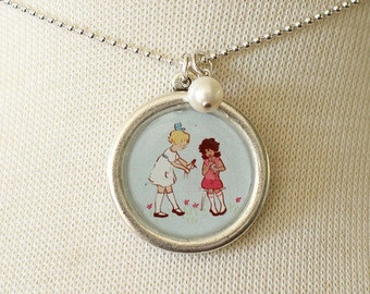 Necklace - Playing Dolls
