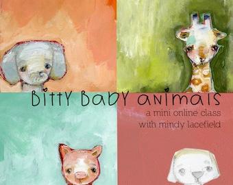Bitty Baby Animals - online Mini class