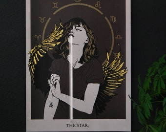 "Art print ""The Star"""