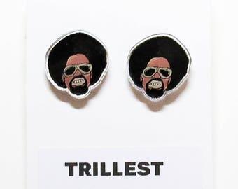 Trillest Acrylic Earrings