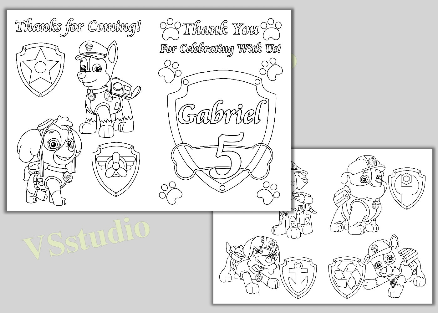 New Paw Patrol Coloring Pages Pdf