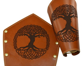 Celtic Tree of Life Arm Bracers - Celtic Armor - #DK6051
