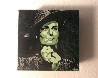 "Adorable ""Elphaba"" 4X4 Cube"