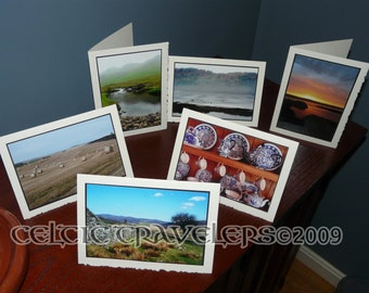 Choose Any Six (6) - 5 x 7 Original Art Photograph Note Cards with envelope