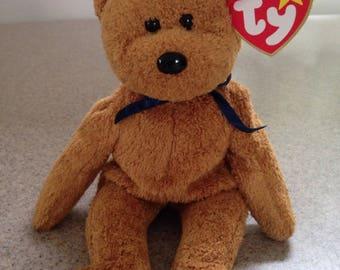 Ty Fuzz the Bear Beanie Baby
