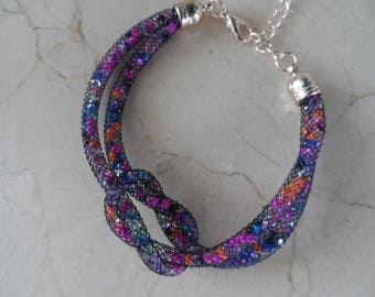 multicolored Swarovski Crystal bracelet