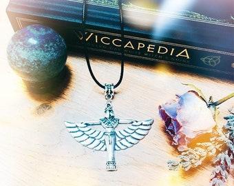 Egyptian Goddess Isis necklace