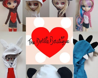 Custom Hoodie for Pullip type 3/4 or Obitsu