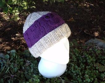 Owlie Hat (Oatmeal Range)