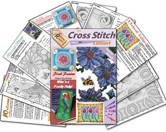 Cross Stitch Consort Issue 2 PDF Chart Pack