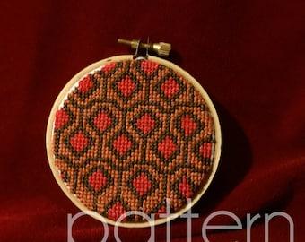 The Shining Carpet Cross Stitch Pattern