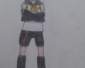 Fan Art: Kagamine Rin